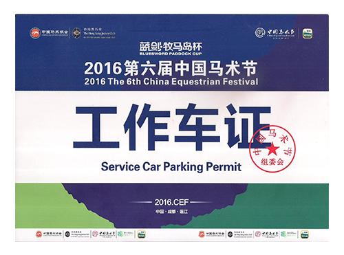 2016第六届中国马术节