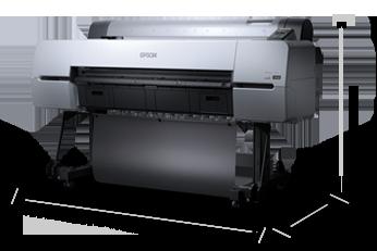 產品外觀尺寸 - Epson SureColor P10080產品規格