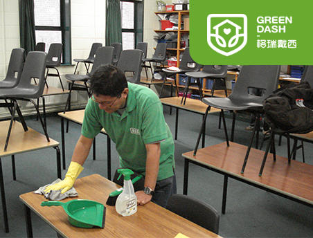 学校幼儿园保洁工作