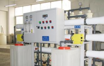 四川梓撞宫药业有限公司生产用纯水制备系统案例