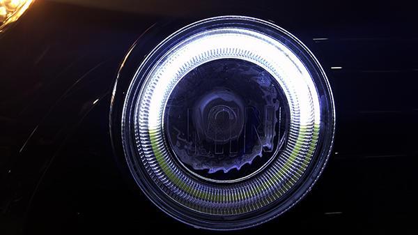 宝马mini加装拉力灯