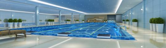 我公司中标科院路游泳馆亚博体育手机网页版登录及装饰工程