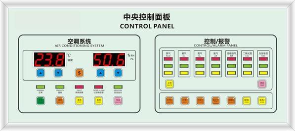 中央控制面板