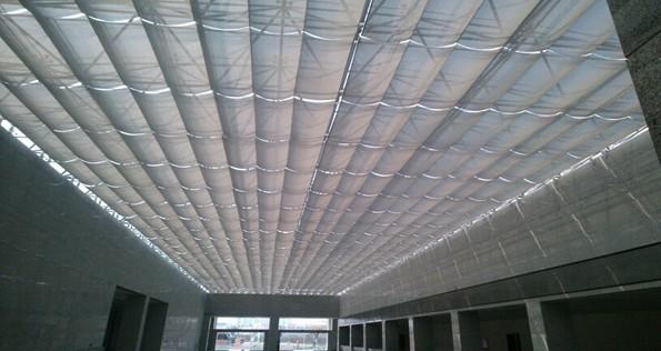 泸州市交通局车辆管理所折叠式天棚帘