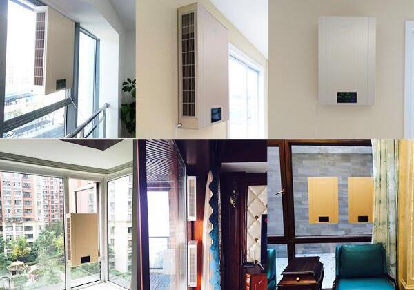 家用新風系統能換氣能通風能防霧霾也能除濕