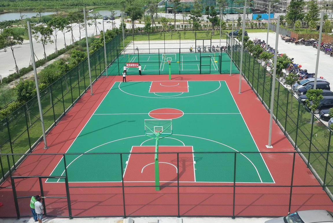成都上海东韵篮球场、羽毛球场项目施工工程