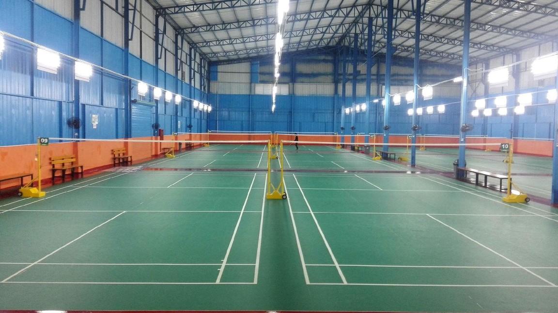 成都成飞宾馆网球场、羽毛球场项目施工工程
