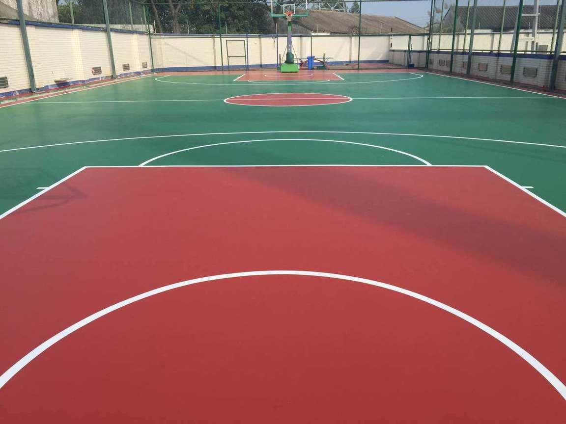 成都132航空办事处篮球场项目施工工程