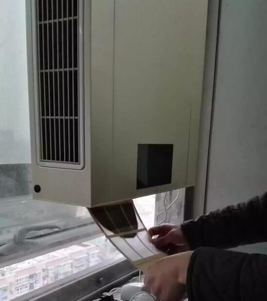 壁挂新风系统初效滤网清洗步骤2