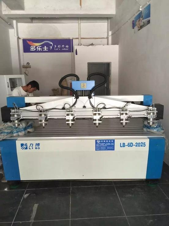 LB-2025-2013-2513-6头木工雕刻机