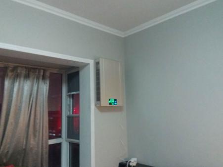 壁掛新風機墻上安裝