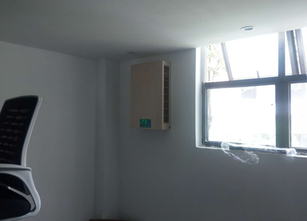 壁掛新風機安裝案例