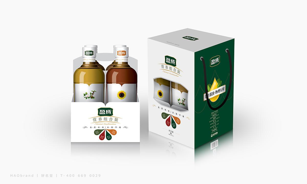 盈成油脂,長沙包裝設計,食用油包裝設計,組合包裝設計,禮盒包裝設計,包裝設計欣賞