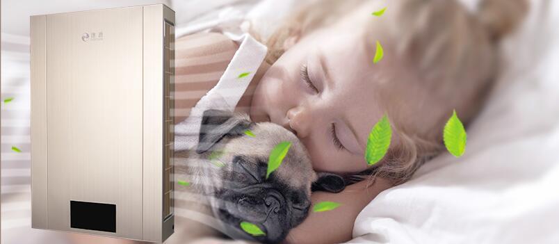 家用新风机-卧室新风系统-健康睡眠环境