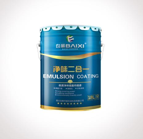 万博体育manbetx手机版净味二合一优质净味内墙漆
