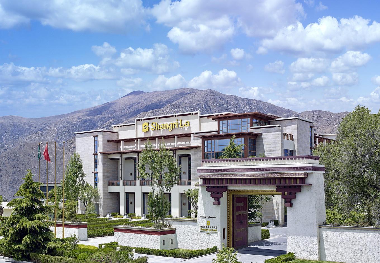 拉薩香格里拉大酒店全貌