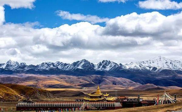 川藏線塔公攝影