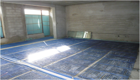 四川省内江内江市城市建设职工学校毛细血管空调安装案例