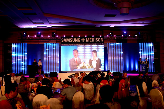 2011三星麦迪逊SAMSUNG+MEDISON发布会