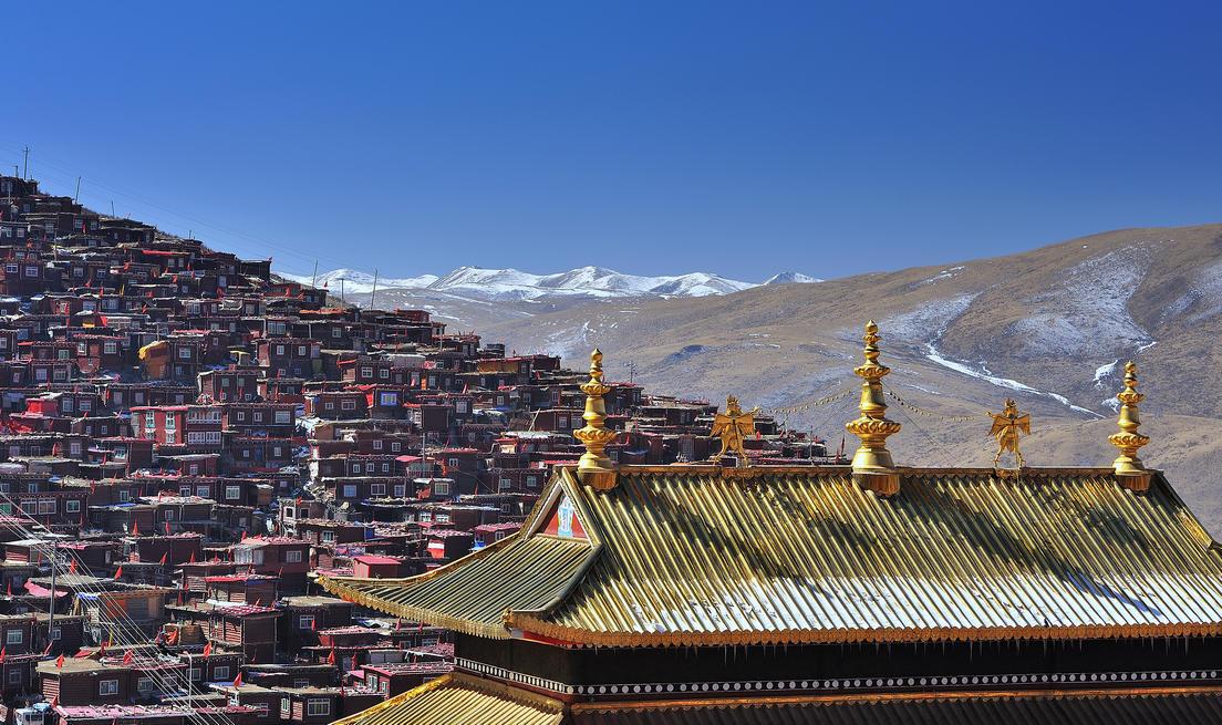 317川藏線景點分布圖