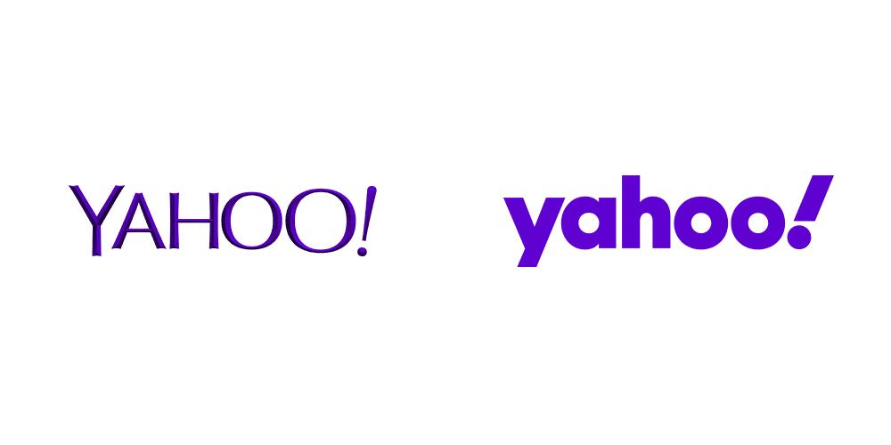 雅虎,標志設計,logo設計,品牌設計,品牌升級