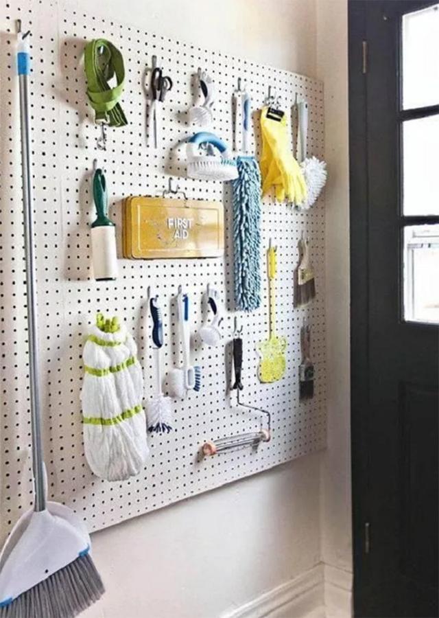 清潔工具放哪不凌亂?這怕是收納界的難題,但達人們的做法很厲害