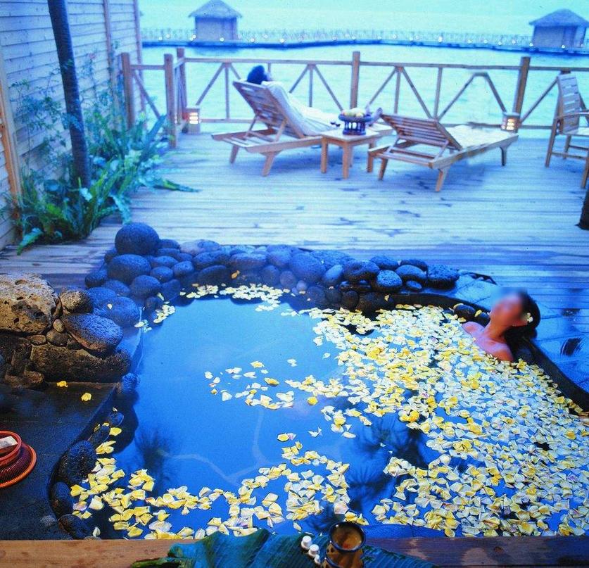 一体化温泉spa设备