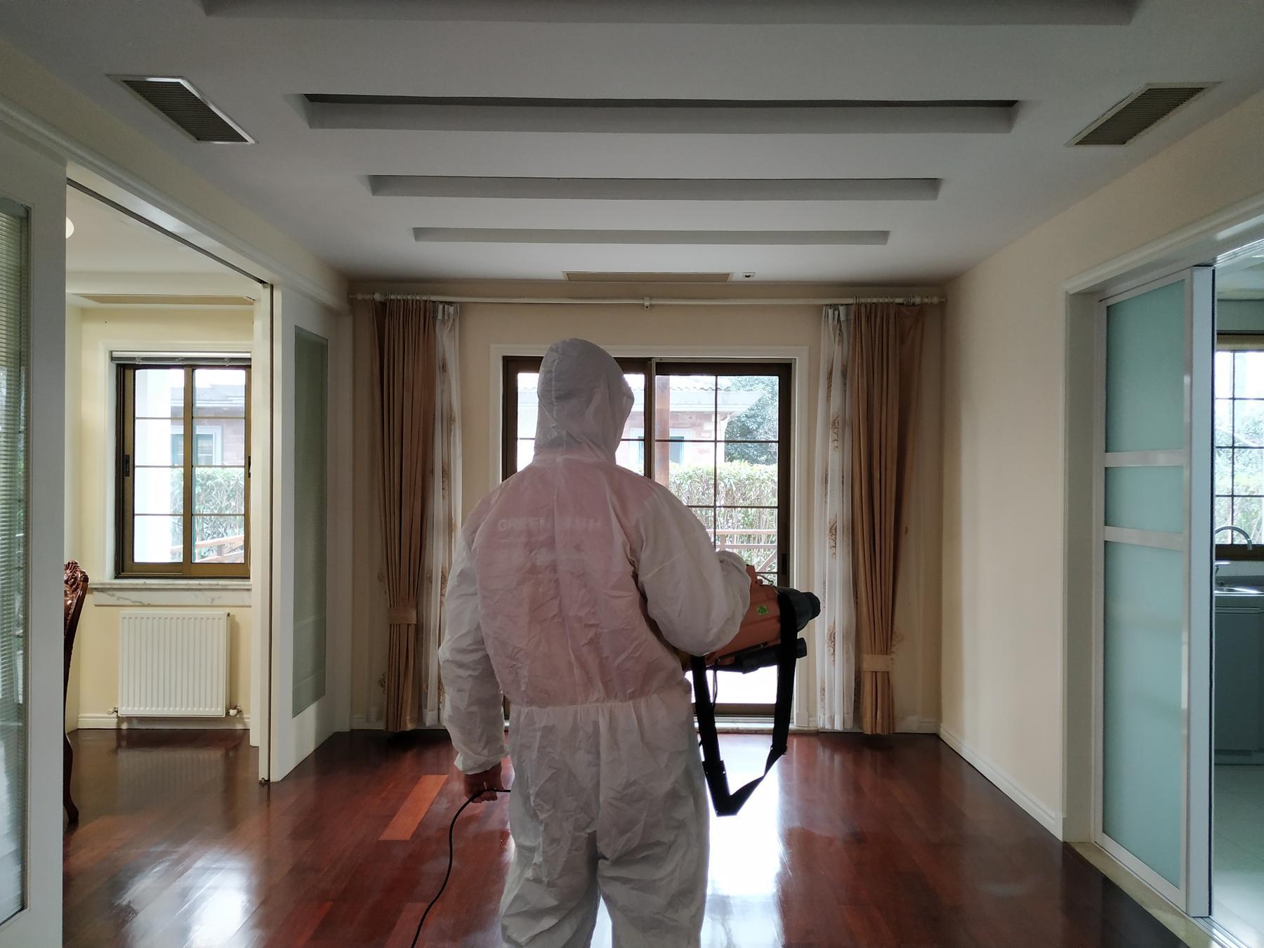 二手房客厅消毒