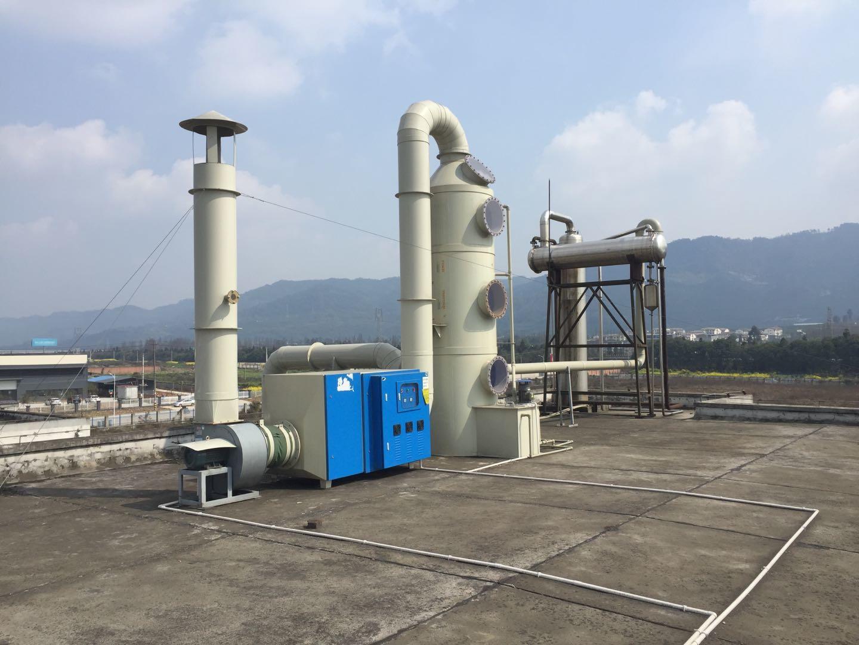 四川制药厂高浓度废气处理