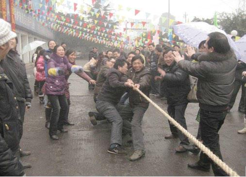 """2011年1月26日我公司成功举办了""""腾飞2011,我与竹锅共辉煌""""春节主题系列活动"""