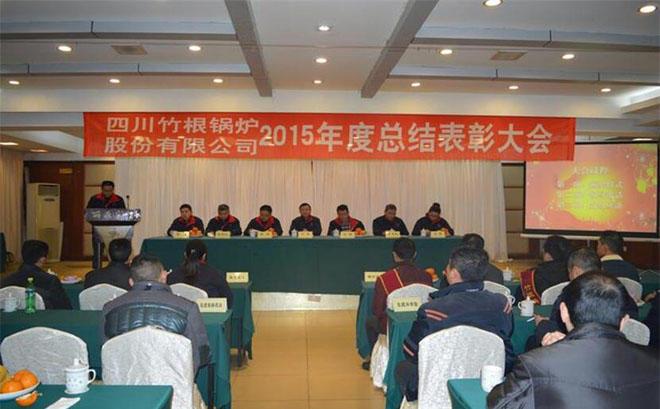 2015年度总结表彰大会
