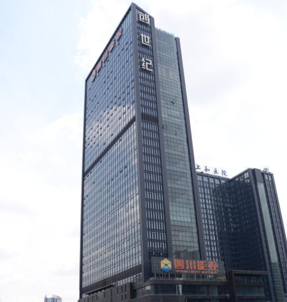 四川成都创世纪广场地源热泵工程和热水系统设计施工