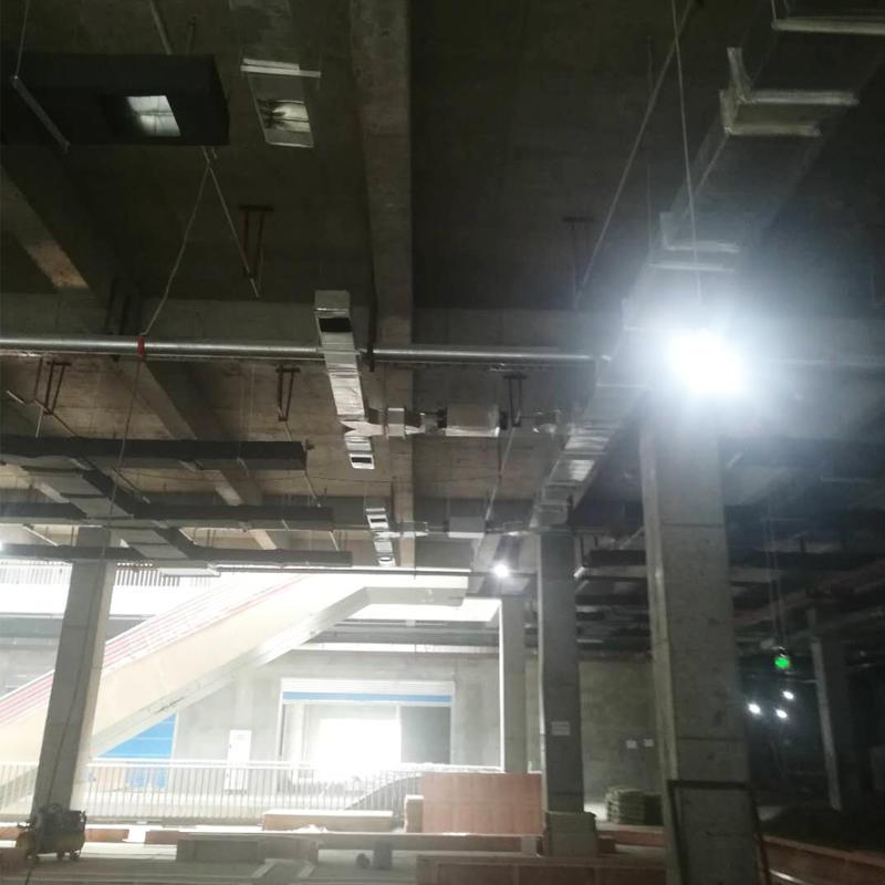 成都中節能世紀中心商場新風系統安裝