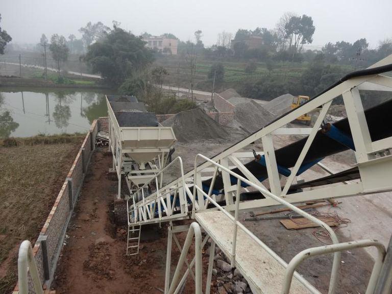 污水厂污泥固化处理