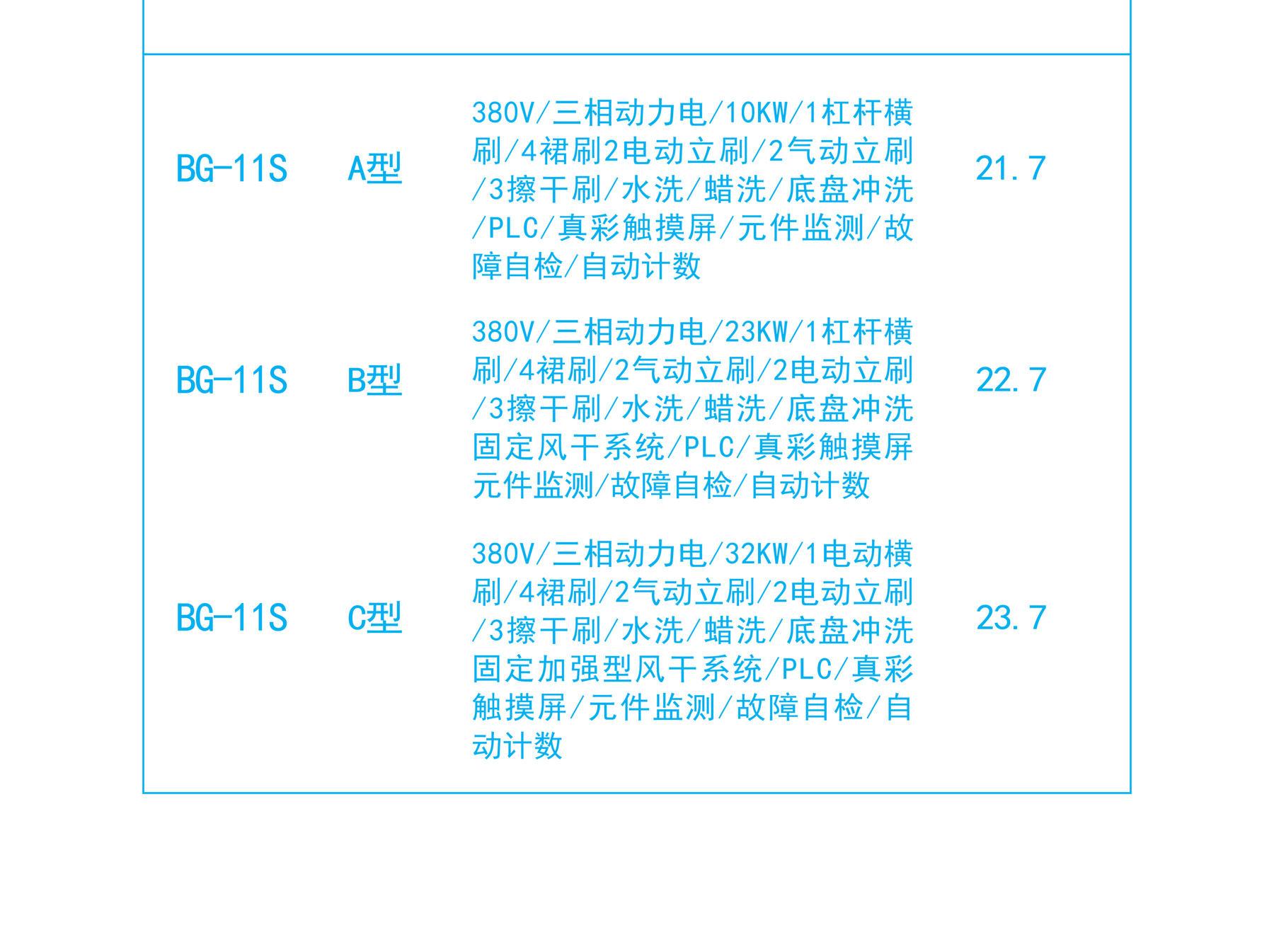 BG-11S洗车设备价格