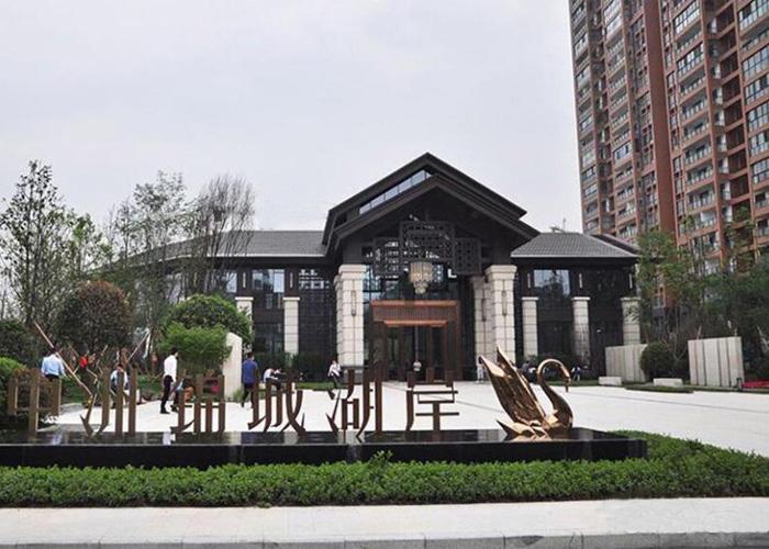 四川成都中洲锦城湖岸五恒毛细管辐射生态空调系统