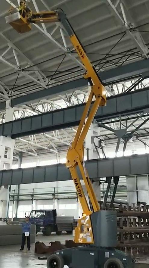HA151P曲臂式高空作業車