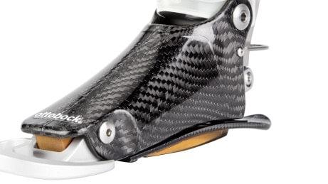 Frame and heel spring