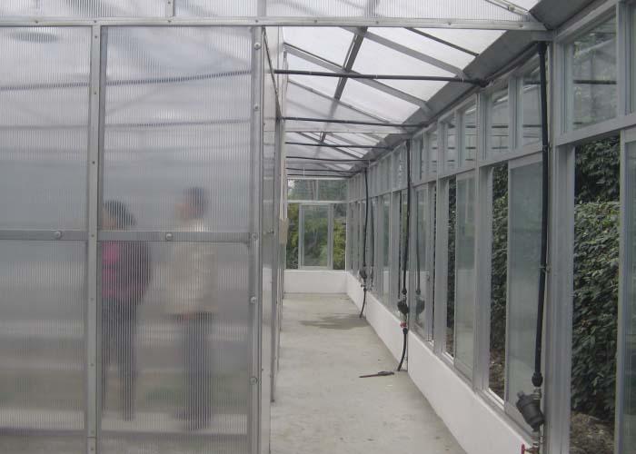 Scientific Research Greenhouse (outside)