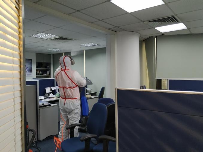 新型冠状病毒来袭 • 办公室整体消毒