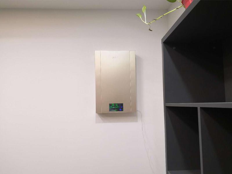 成都新风系统安装公司-壁挂新风机案例