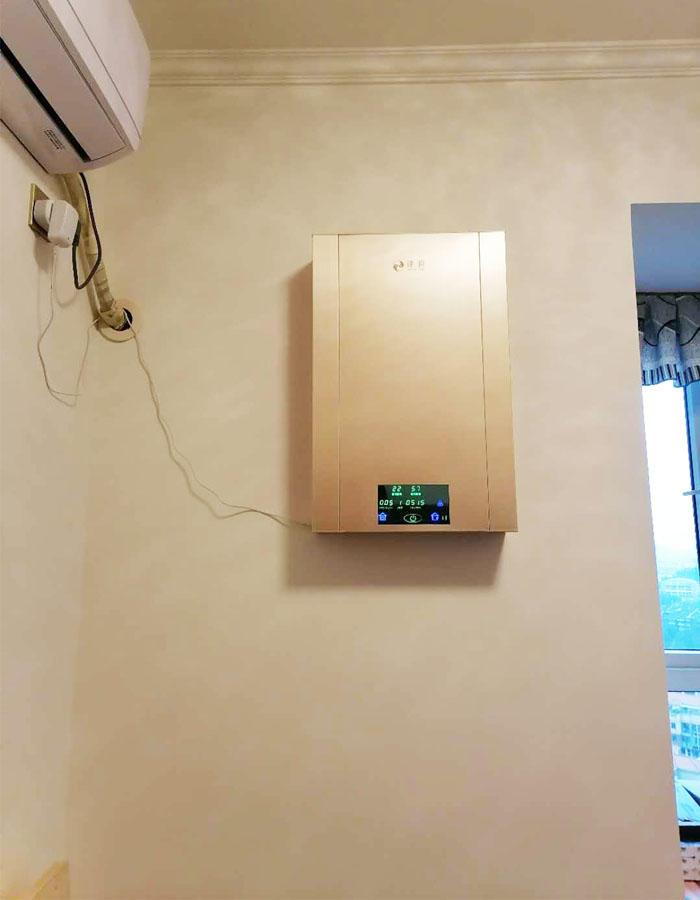 壁挂新风系统安装之成都郫都区案例