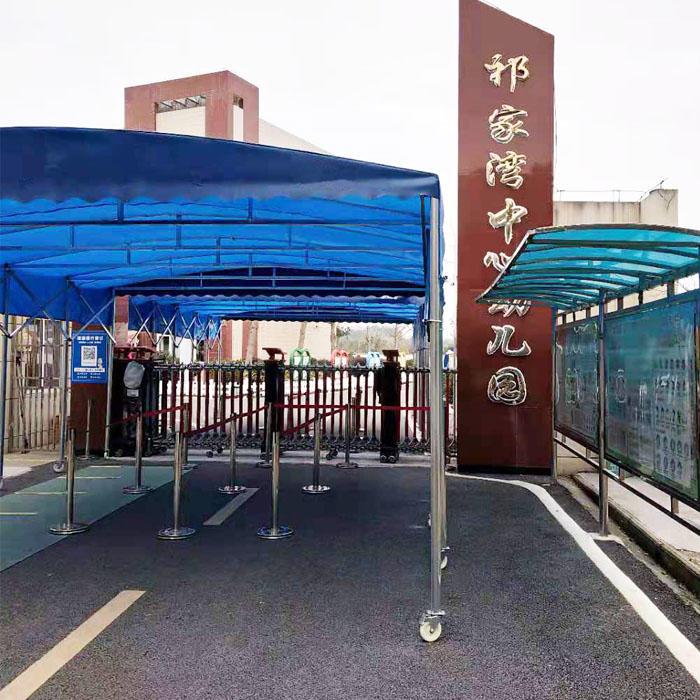 校園新風系統安裝之湖北武漢黃陂祁家灣中心幼兒園新風機案例