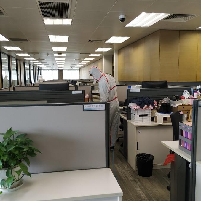 光大控股 • 办公室抗疫预防消毒
