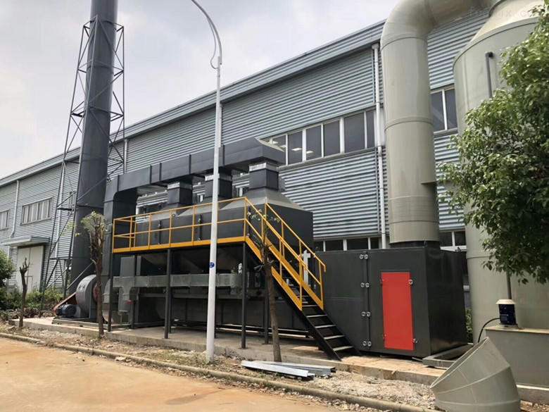 廢氣處理催化燃燒工藝
