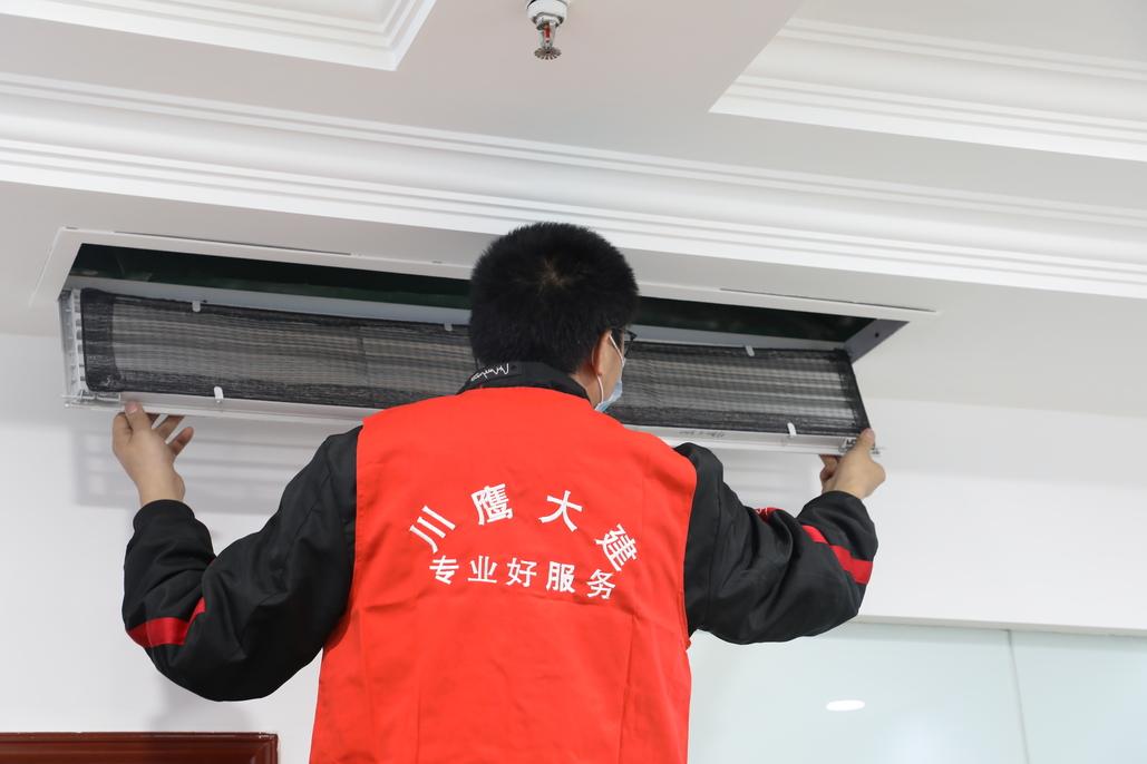 办公室中央空调清洗有哪些步骤?