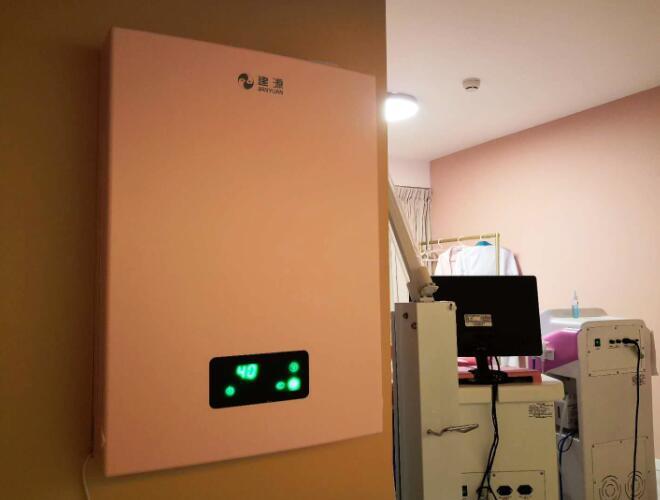 成都高新區福年廣場T1辦公室建源壁掛新風系統安裝案例