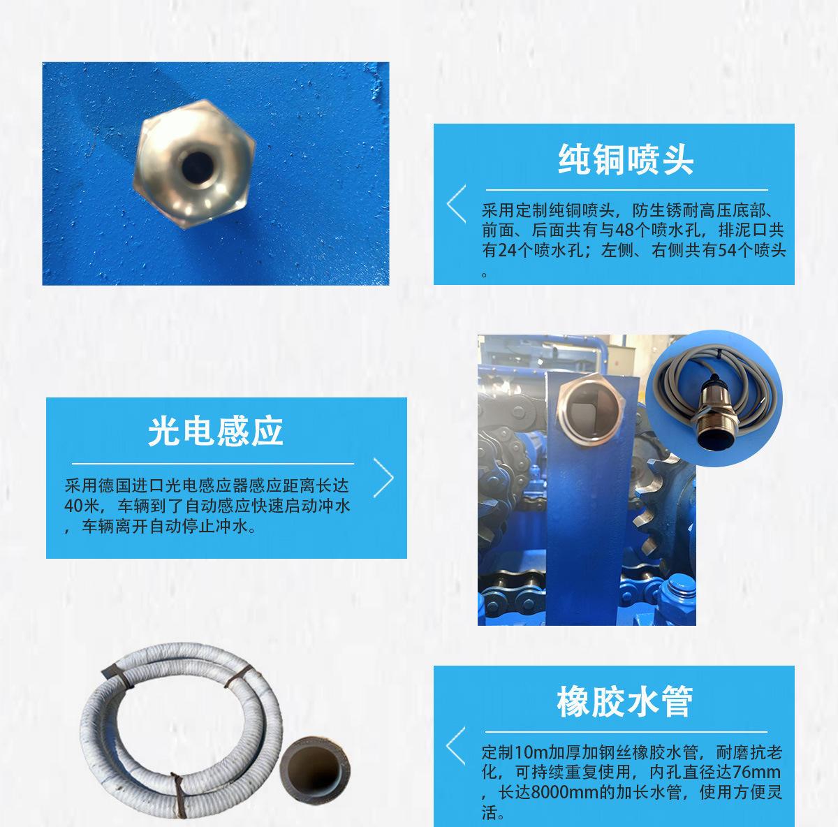 工程洗轮机配件