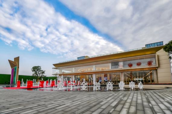 遂宁佳乐金融商业中心展示区