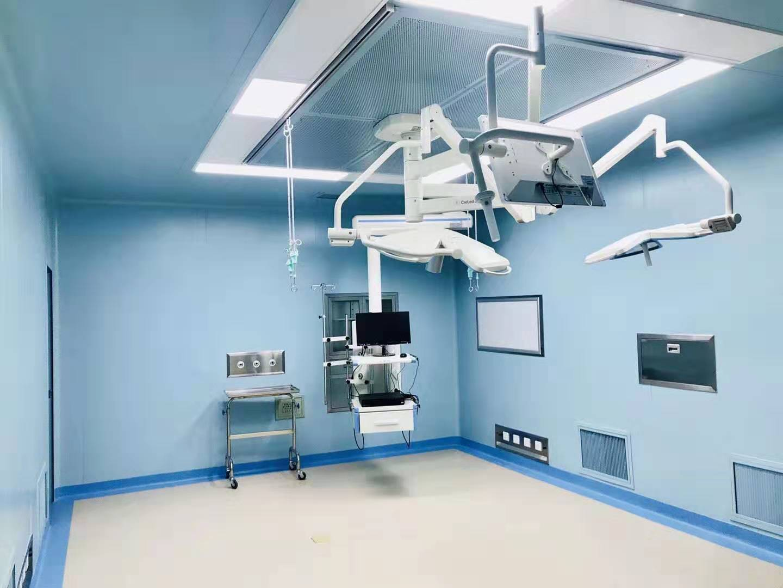 华锐为泸州高端医美打造层流洁净手术室净化系统